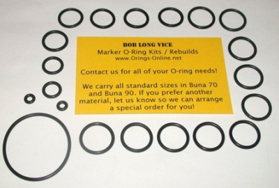 Bob Long Vice Marker O-ring Kit - 2 Rebuilds