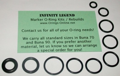 Infinity Legend Marker O-ring Kit - 2 Rebuilds