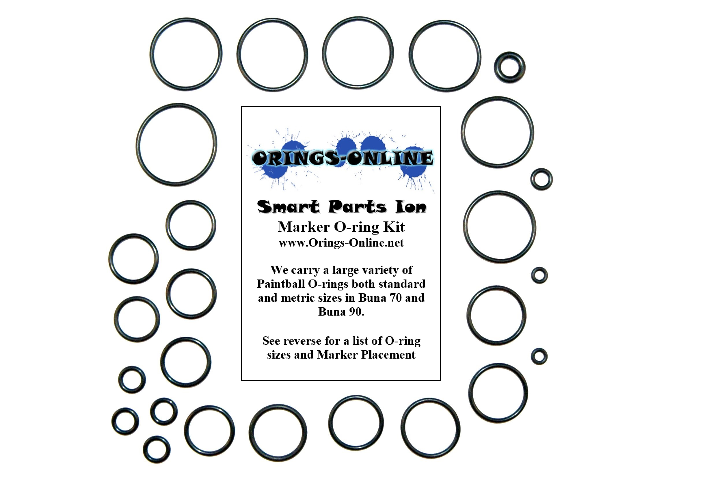 Smart Parts - Ion Marker O-ring Kit
