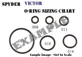 Tippmann X7 / X-7 O-ring Kit - 4 Rebuilds