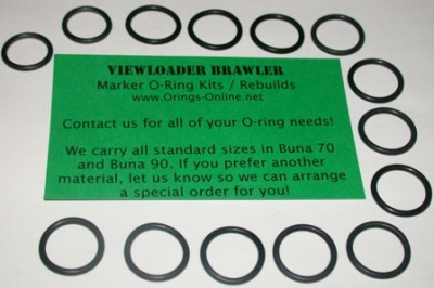 Viewloader Brawler Marker O-ring Kit - 4 Rebuilds