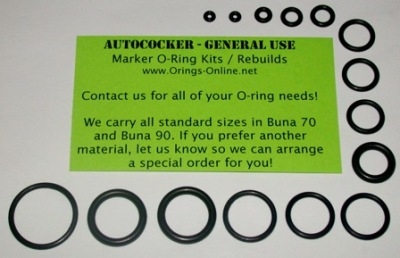 Autococker General O-ring Kit - 4 Rebuilds