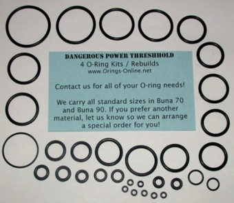 Dangerous Power - Threshold Marker O-ring kit 4 rebuilds