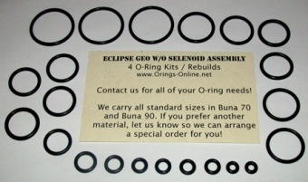 Planet Eclipse Geo Marker O-ring kit 2 rebuilds