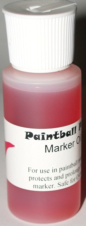 Paintball Pink Marker / Gun Oil 1 oz Bottle
