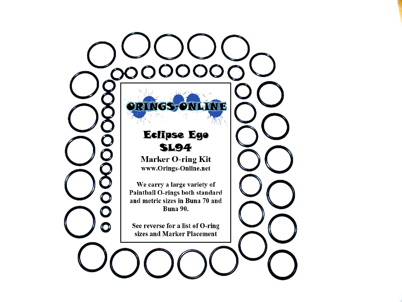 Planet Eclipse Ego SL94 Marker O-ring Kit