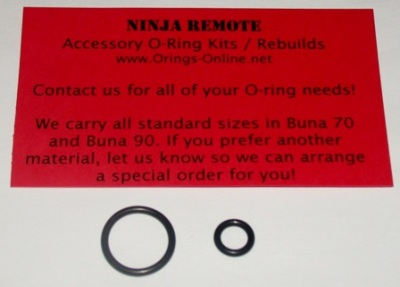 Ninja Remote O-ring Kit - 2 Rebuilds