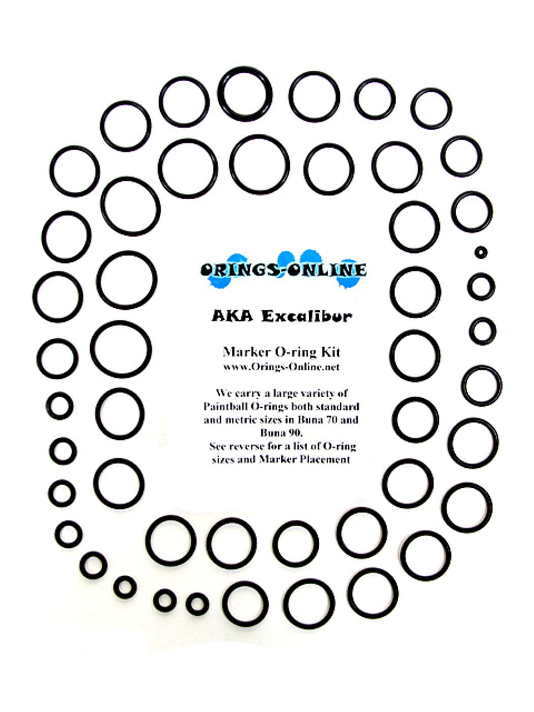 AKA Excalibur Marker O-ring Kit