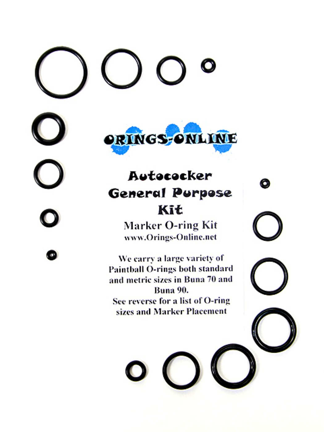 Autococker General O-ring Kit