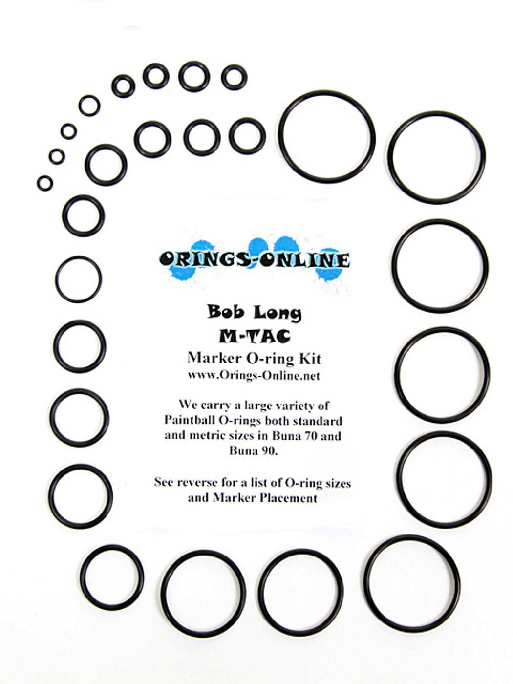Bob Long M-Tac Marker O-ring Kit