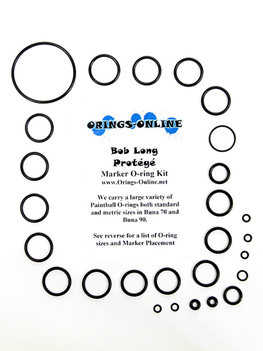 Bob Long Protege Marker O-ring Kit