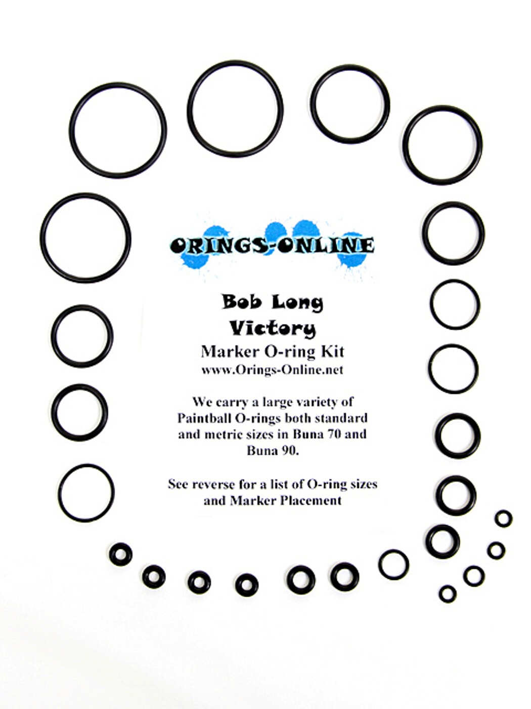 Bob Long Victory Marker O-ring Kit