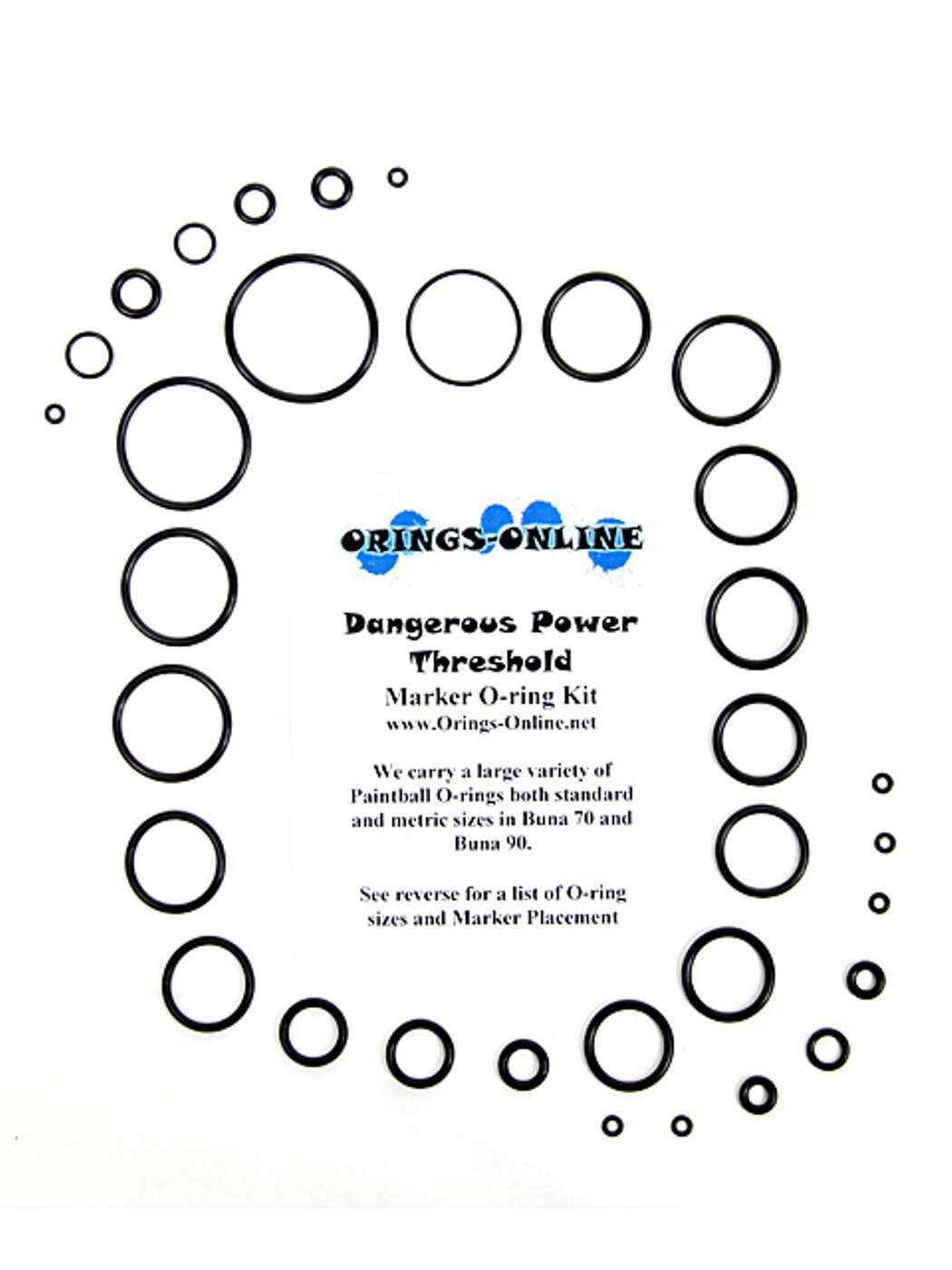 Dangerous Power - Threshold Marker O-ring Kit