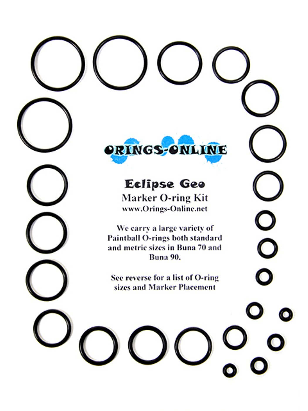 Planet Eclipse Geo Marker O-ring Kit