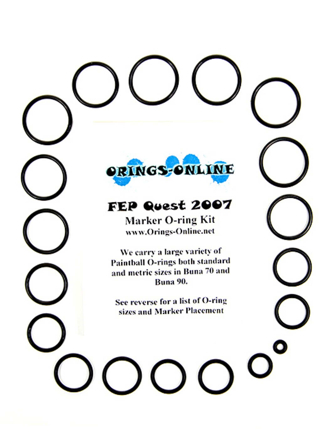 FEP Quest 07 Marker O-ring Kit