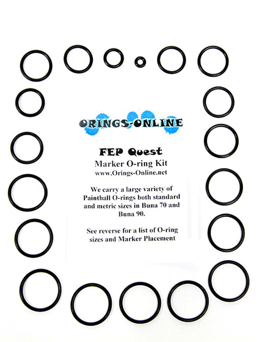 FEP Quest Marker O-ring Kit