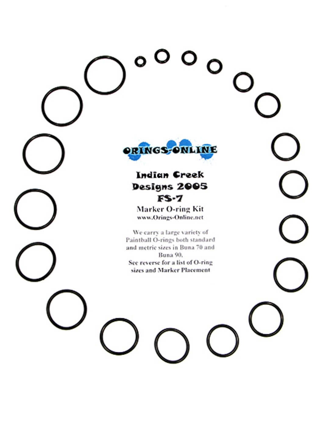 Indian Creek Freestyle FS-7 O-ring Kit