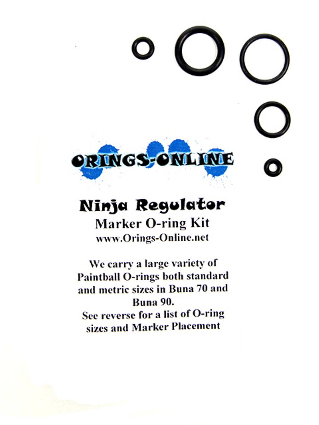 Ninja Regulator O-ring Kit