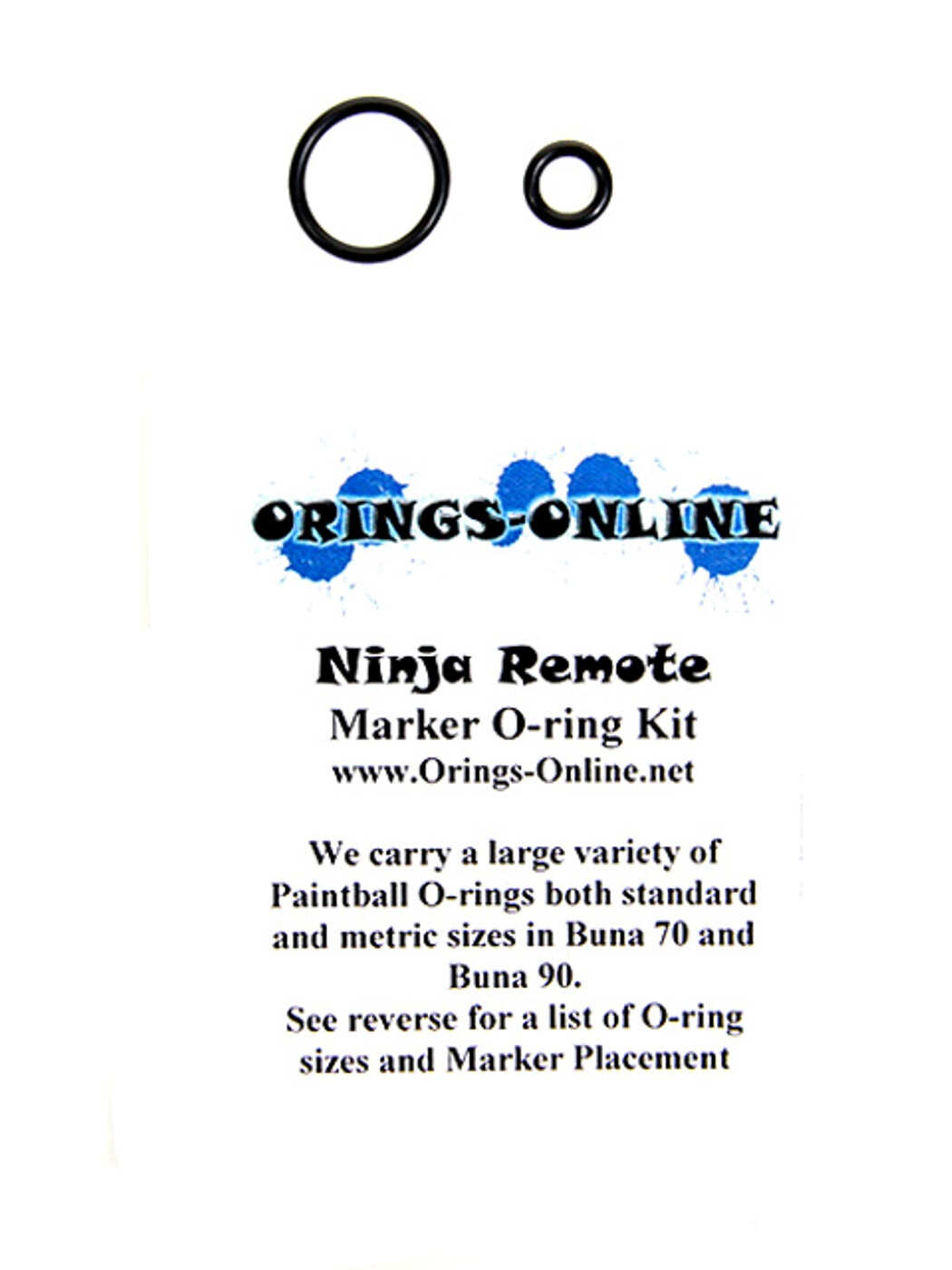 Ninja Remote O-ring Kit