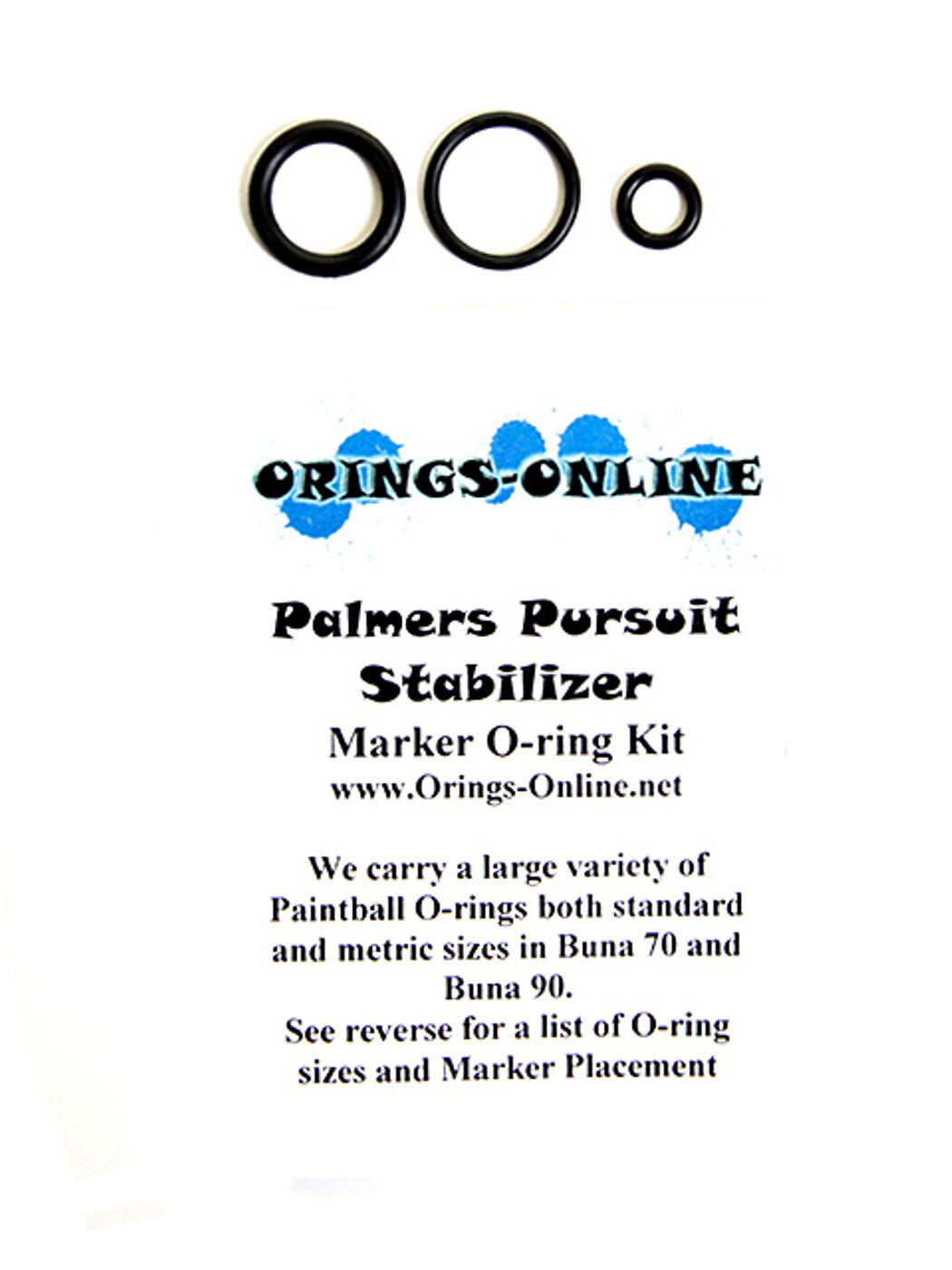 Palmers Pursuit Stabilizer O-ring Kit