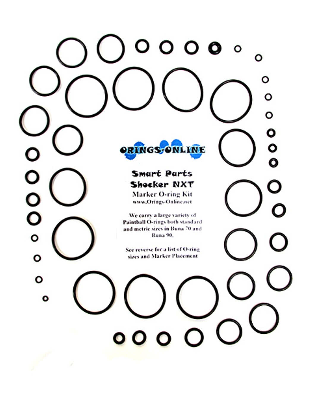 Smart Parts - Shocker NXT Marker O-ring Kit