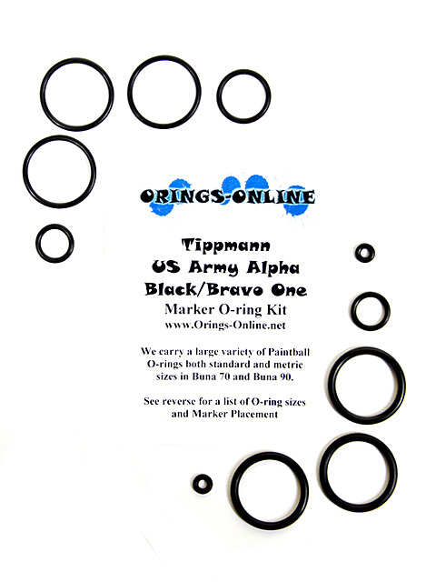 Tippmann Alpha Black / Bravo One Marker O-ring Kit