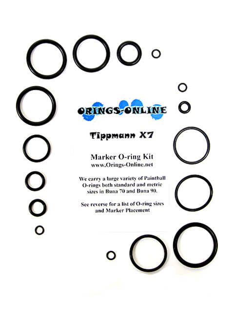 Tippmann X7 / X-7 O-ring Kit