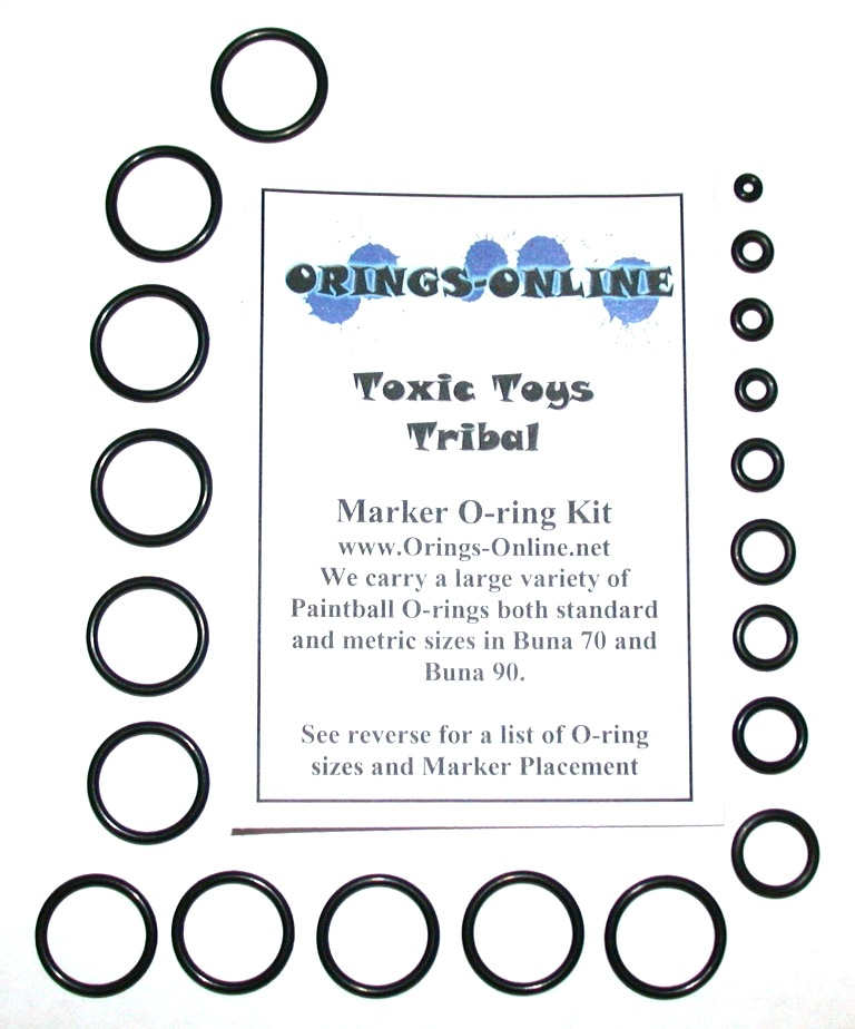 2X or 4X Rebuilds Orings-Online O-Ring Kit Compatible with Empire Vanquish 1.5 Paintball Marker