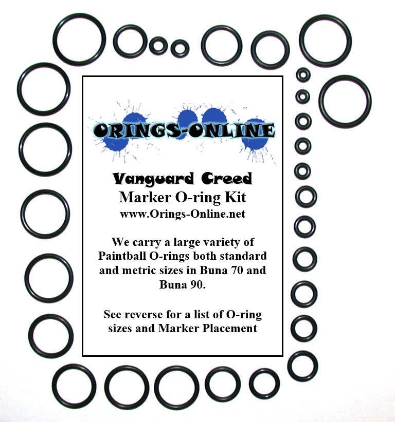 Vanguard Creed Marker O-ring Kit