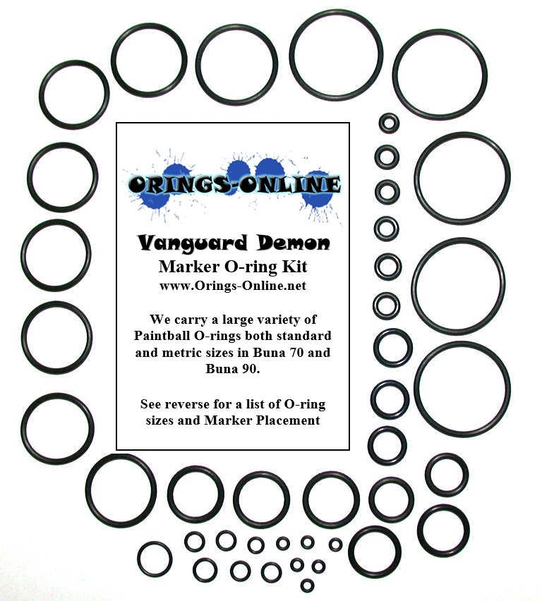 Vanguard Demon Marker O-ring Kit