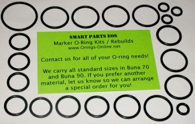 Smart Parts EOS Marker O-ring Kit - 2 Rebuilds