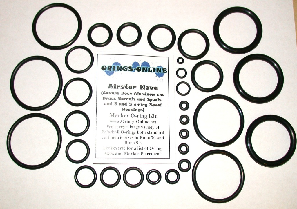 Airstar Nova Marker O-ring Kit