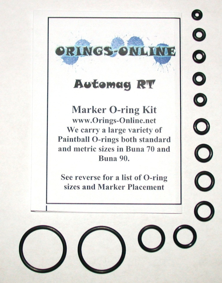 Automag RT Marker O-ring Kit