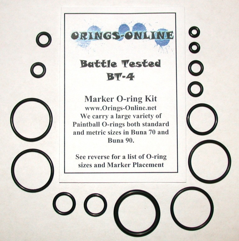Battle Tested BT-4 Marker O-ring Kit