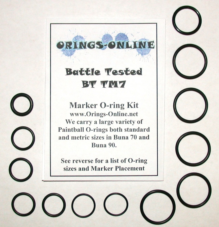 Battle Tested TM7 Marker O-ring Kit
