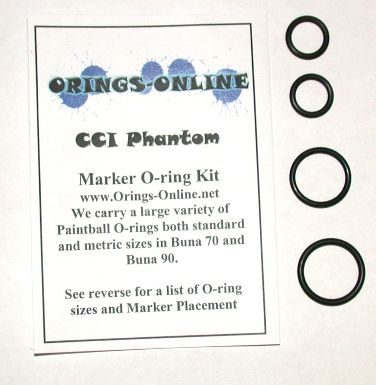 CCI Phantom Marker O-ring Kit