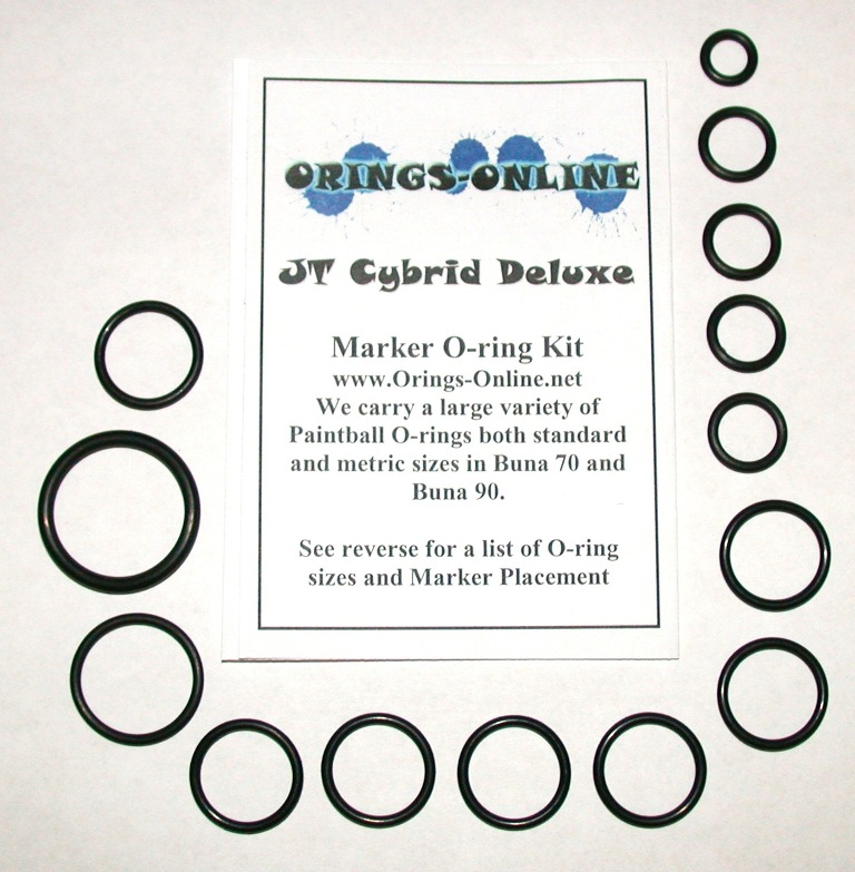 JT Cybrid Marker O-ring Kit
