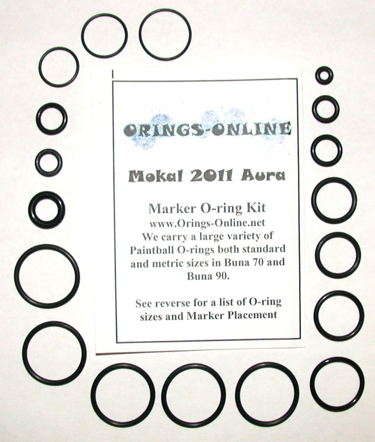 Mokal 2011 Aura Marker O-ring Kit