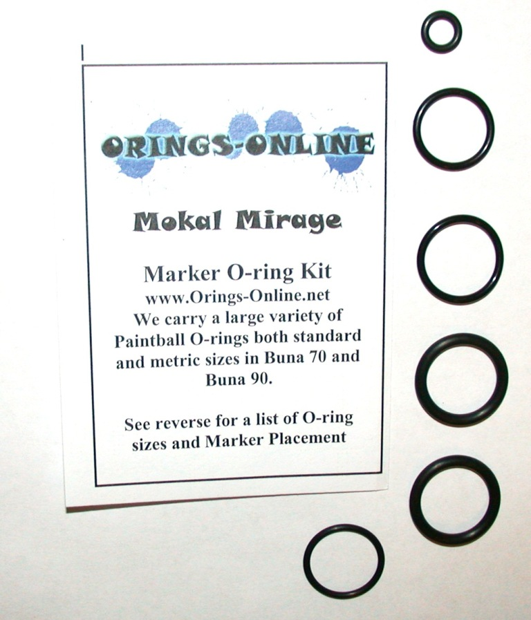 Mokal Mirage Marker O-ring Kit