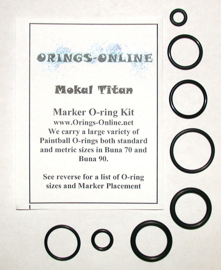 Mokal Titan Marker O-ring Kit