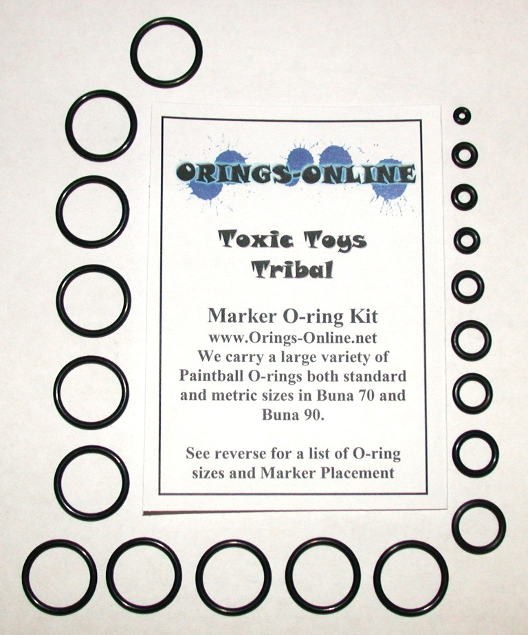Toxic Toys Tribal Marker O-ring Kit