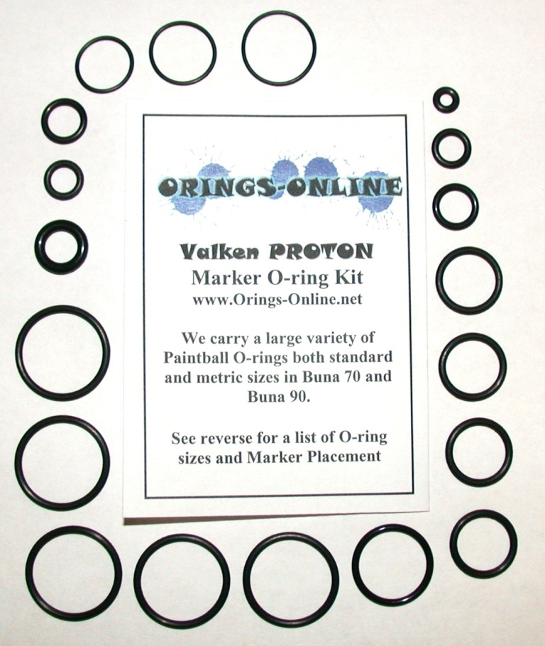 Valken Proton Marker O-ring Kit