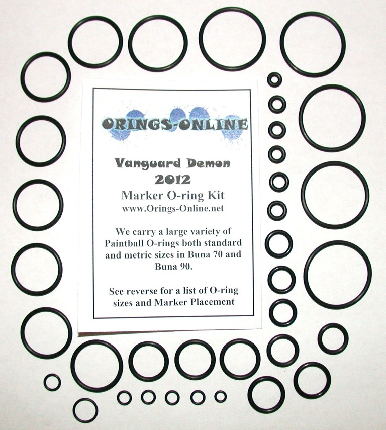 Vanguard Demon 2012 Marker O-ring Kit