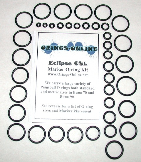 Planet Eclipse CSL Marker O-ring Kit