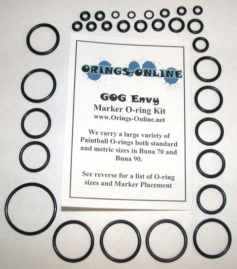 Gog Envy Marker O-ring Kit