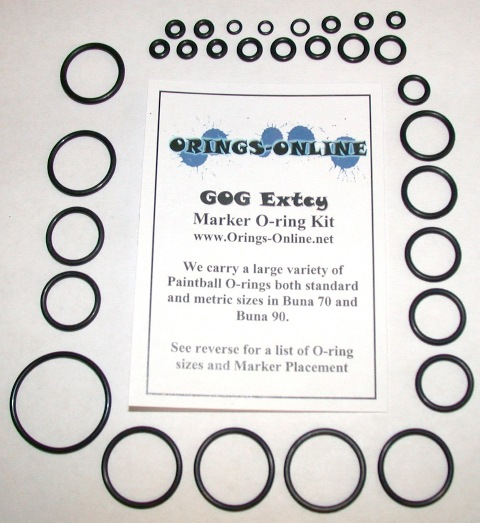 Gog Extcy Marker O-ring Kit