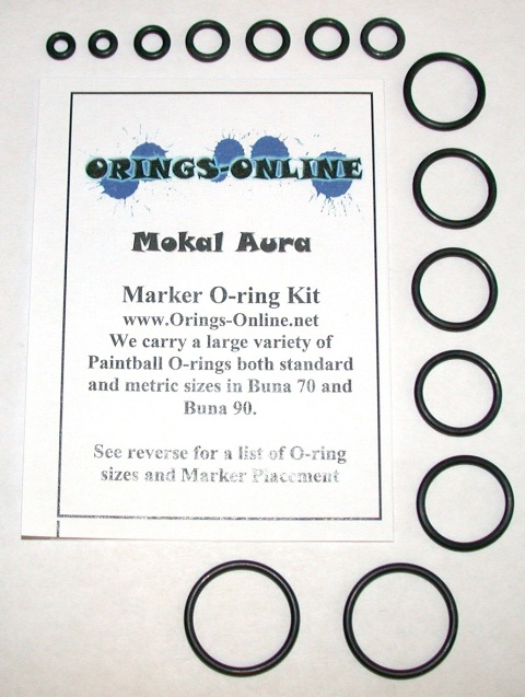 Mokal Aura Marker O-ring Kit
