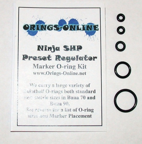 Ninja SHP Preset Regulator O-ring Kit